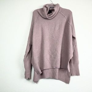 Mossimo lavender slouchy turtleneck sweater